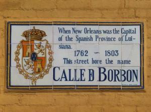 Bourbon Street Mosaic, New Orleans