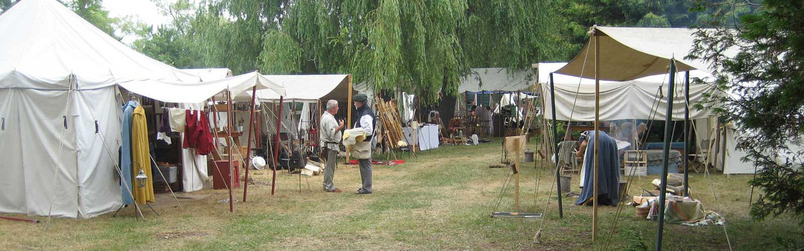 Wasaga Under Siege: River Run, 2011 - Main Encampment